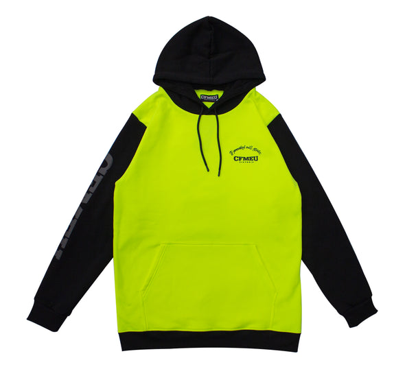 Cobra /Fist IPWS Pullover Hoodie - HV Yellow