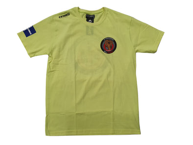 Retro - If Provoked Will Strike Tee (HV Yellow)