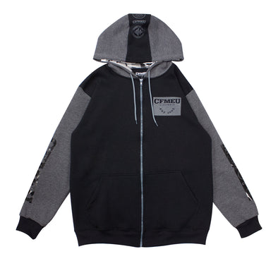 M Patch Full Zip - Black/Grey/Camo