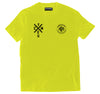 MS Crew Tee - Hi Vis Yellow
