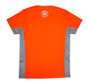 Micro Mesh Crew Tee - Hi-Vis Orange