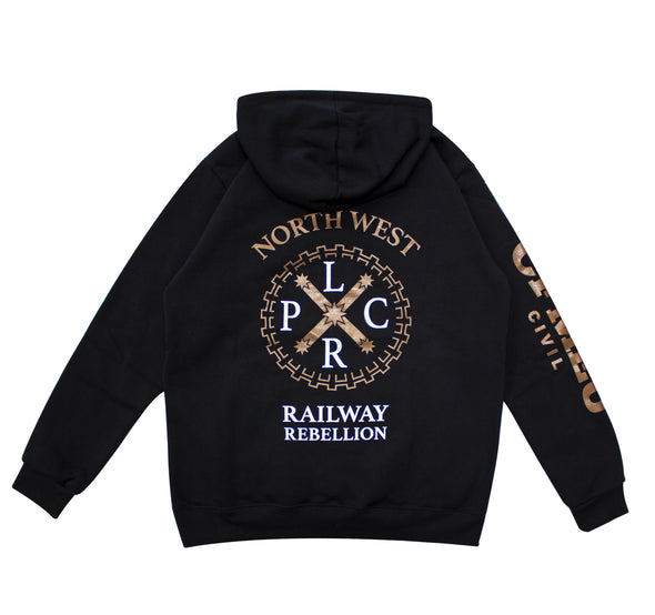 Level Crossing Removal Hoodie - Black (In Stock)