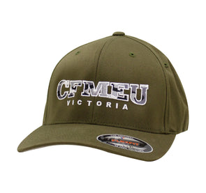 Olive Flexfit Camo Hat - All Sizes
