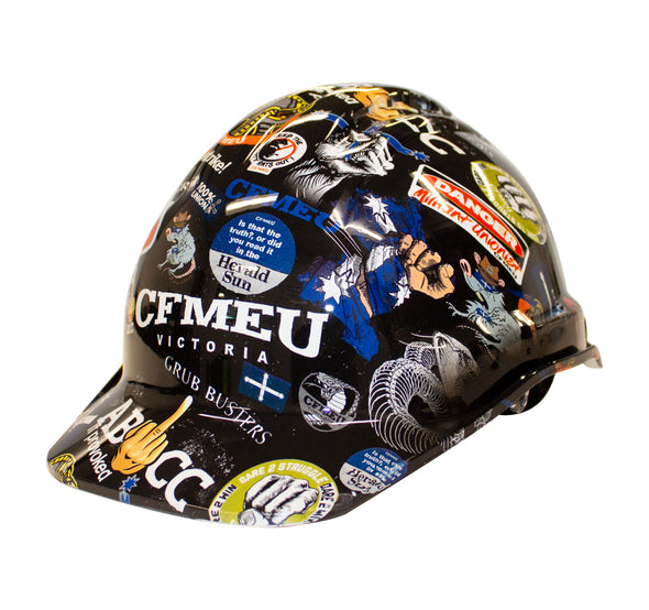 Sticker Bomb Hard Hat - Original