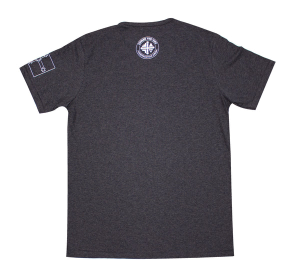 OS Short Sleeve Crew Tee - Charcoal