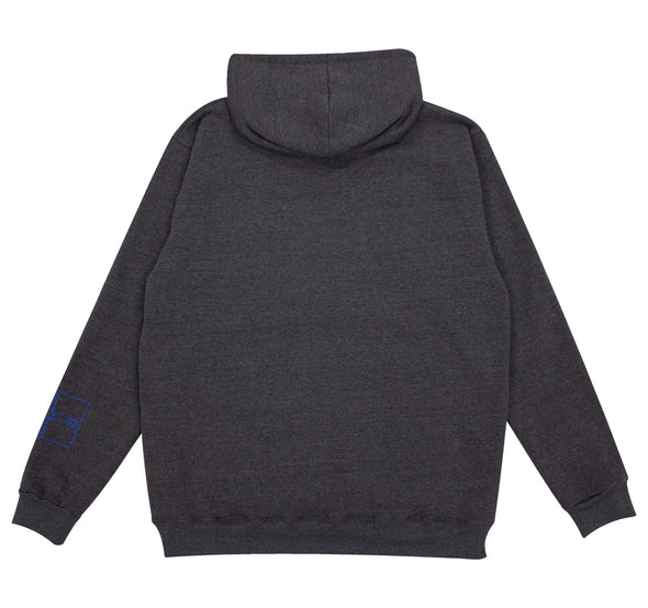 OS Crew Pullover Hoodie - Charcoal