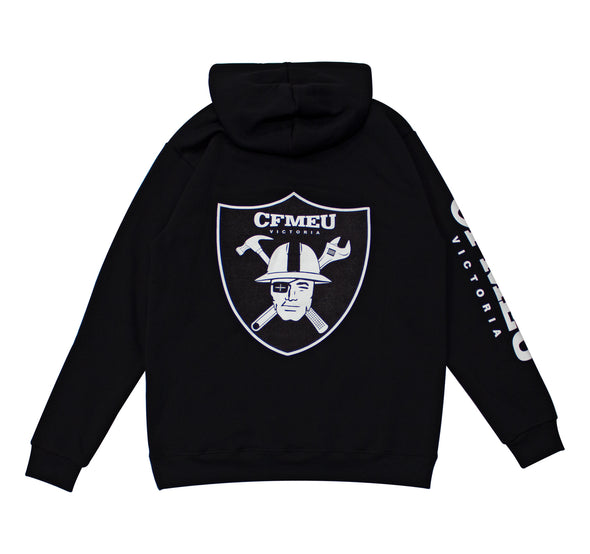 Construction Shield Hoodie