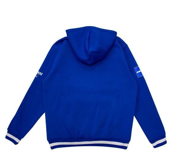 CFMEU Stacked Logo Hoodie - Royal Blue