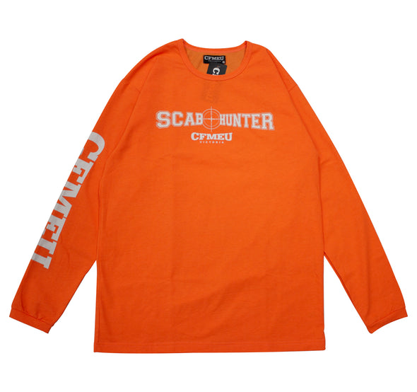 Scab Hunter L/S Tee - HV Orange