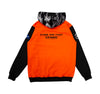 Stand & Fight Pullover Hoodie - HV Orange / Camo / Vintage Black