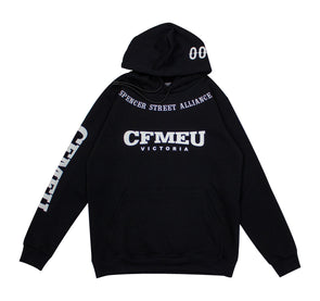 Spencer Street Hoodie - Black (In Stock)