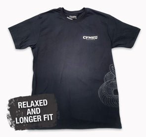 CFMEU Staple Tee - Black