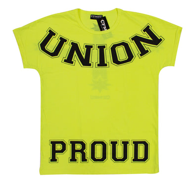 UP Crew Tee - Hi Vis Yellow