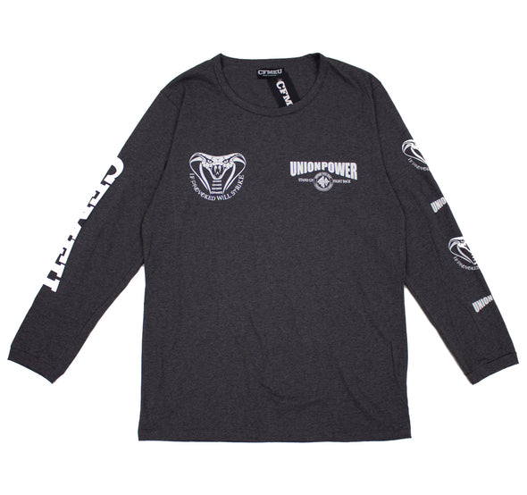 Union Power Cobra Long Sleeve - Charcoal