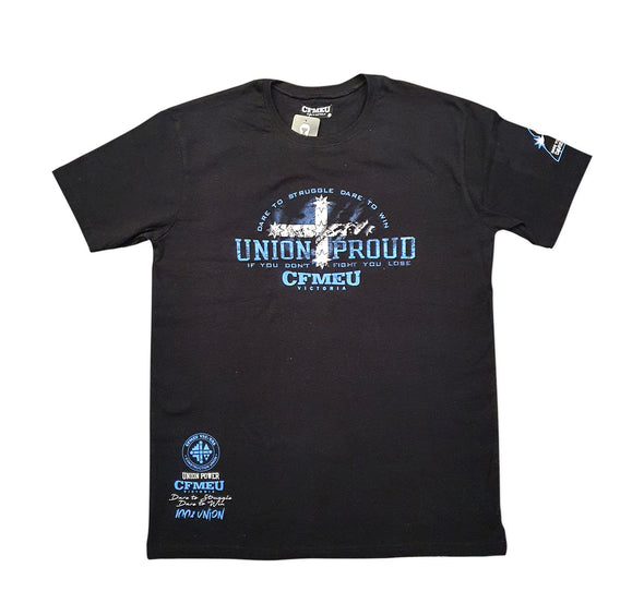 Union Proud Eureka Tee - Black