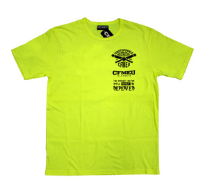 Unstoppable Tee - HV Yellow