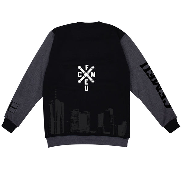 WBTC Silhouette Crew WC - Black/Charcoal