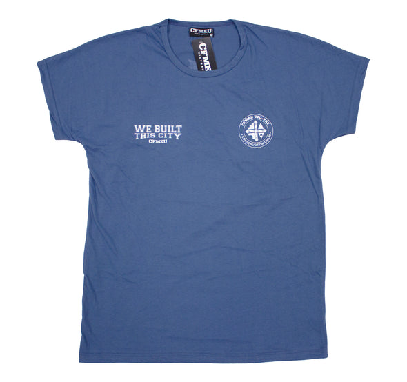 WBTC Eureka Crew Tee - Royal Blue