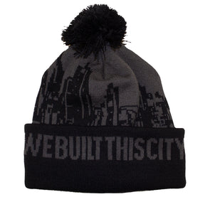 Beanie - We Built this City (POM POM)