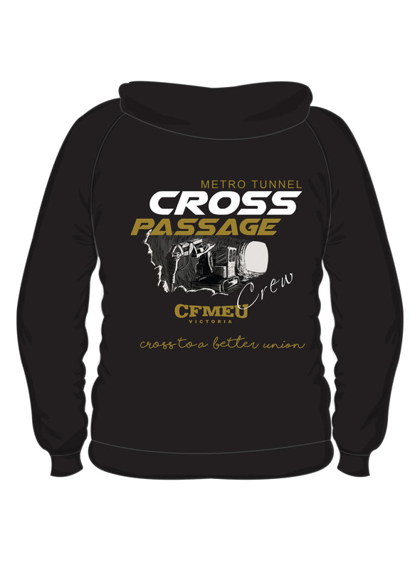 Cross Passage Crew - Black Hoodie