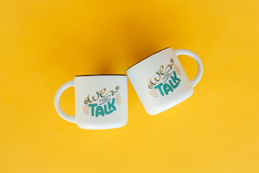 "The ""We Can Talk"" Mug"