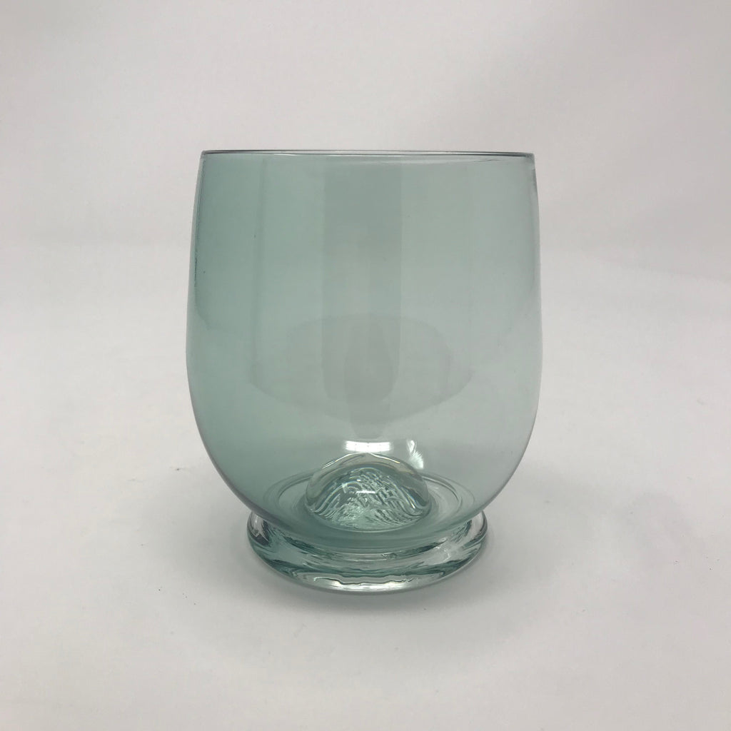 Handmade Blue Cocktail Glass