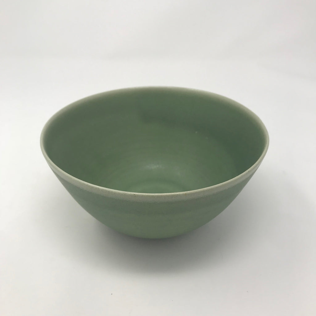 Handmade Moss Green Large Bowl