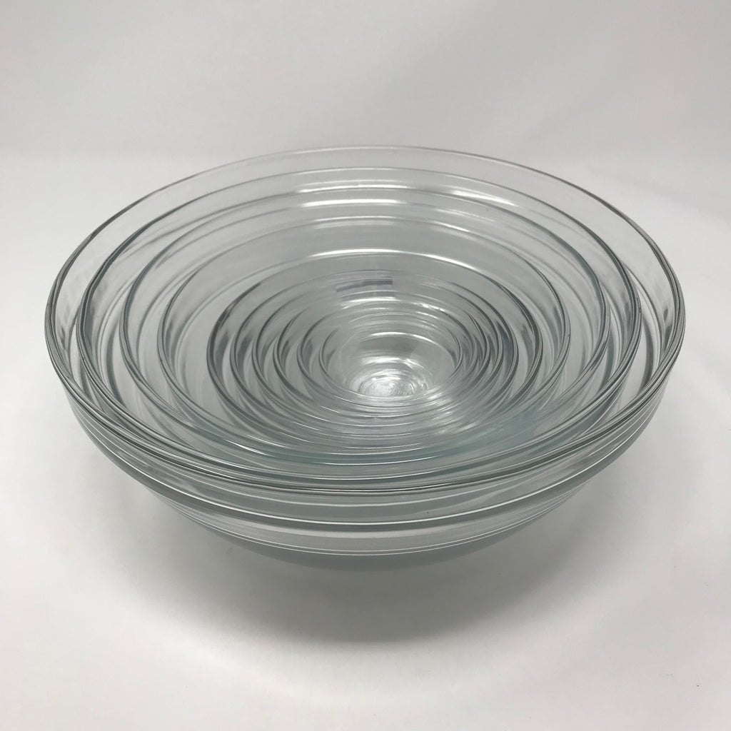 Set of 10 Glass Bowls