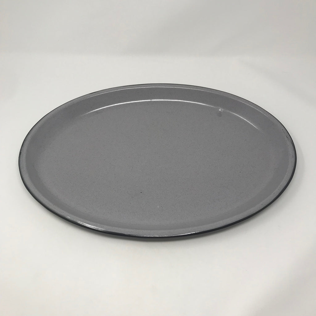 Metal Enameled Oven Tin Platter