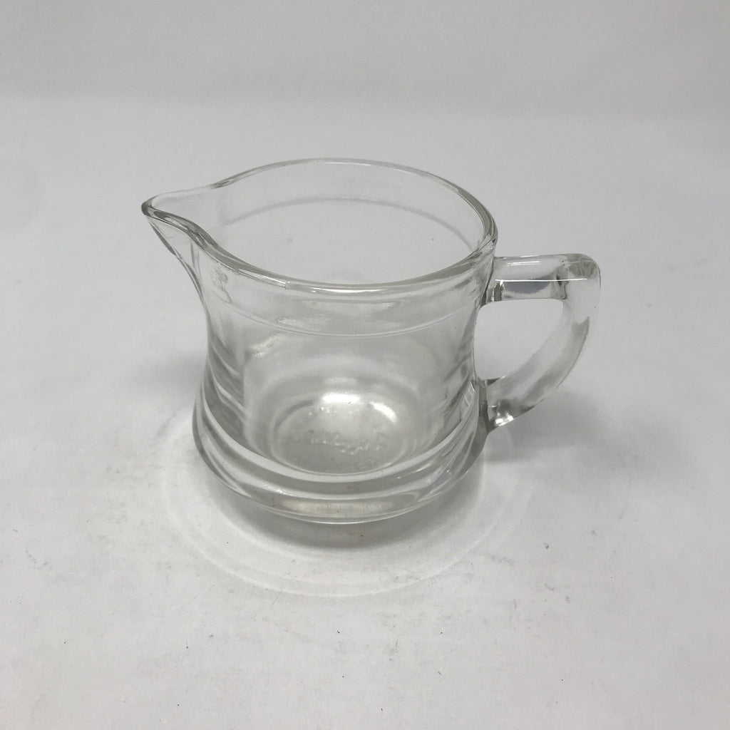 Tiny Glass Creamer/ Syrup container