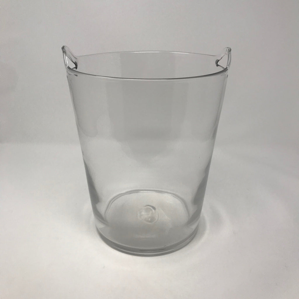 Large Glass Champagne Ice Bucket