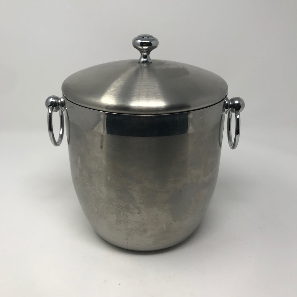Metal Ice Bucket with Handles