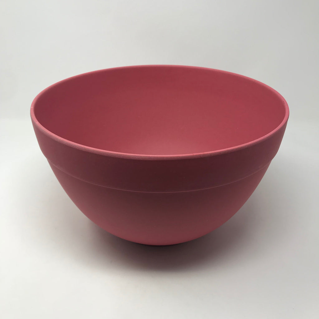Bamboo Red Mixing Bowl