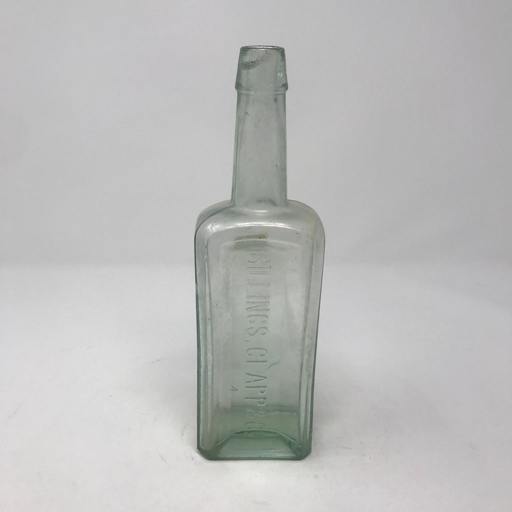Vintage Glass Apothecary Bottle