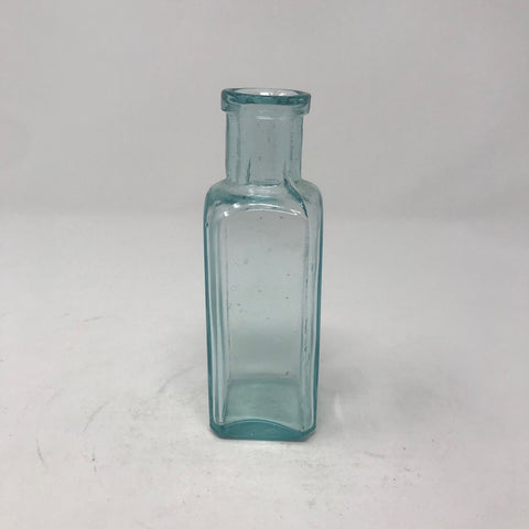 Vintage Small Blue Apothecary Bottle
