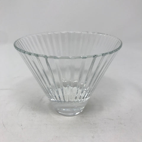 Oblong Faceted Bowl