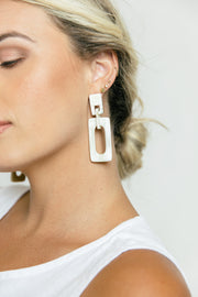 Retro Horn Earrings