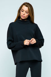 Lounge Sweater - Black