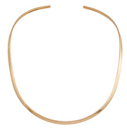 Thin Gold Collar, Round