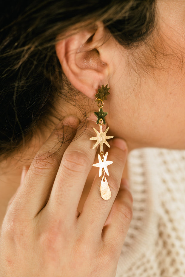 Star Fall Earrings