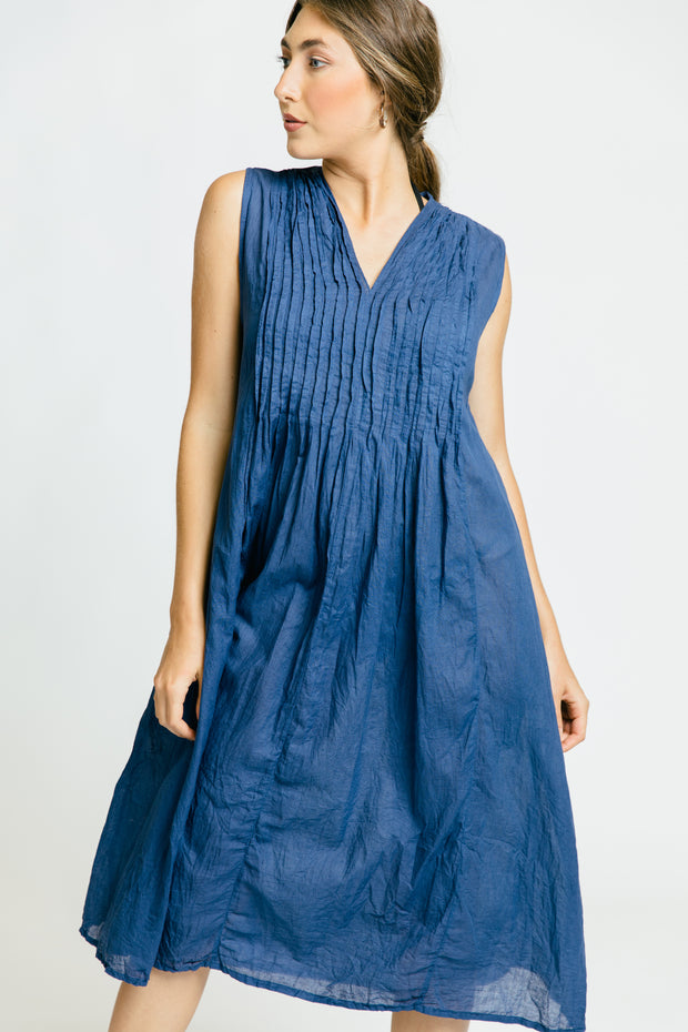 Beach Dress - Navy