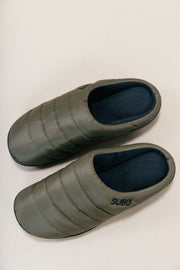 Cabin Slippers - Khaki Green