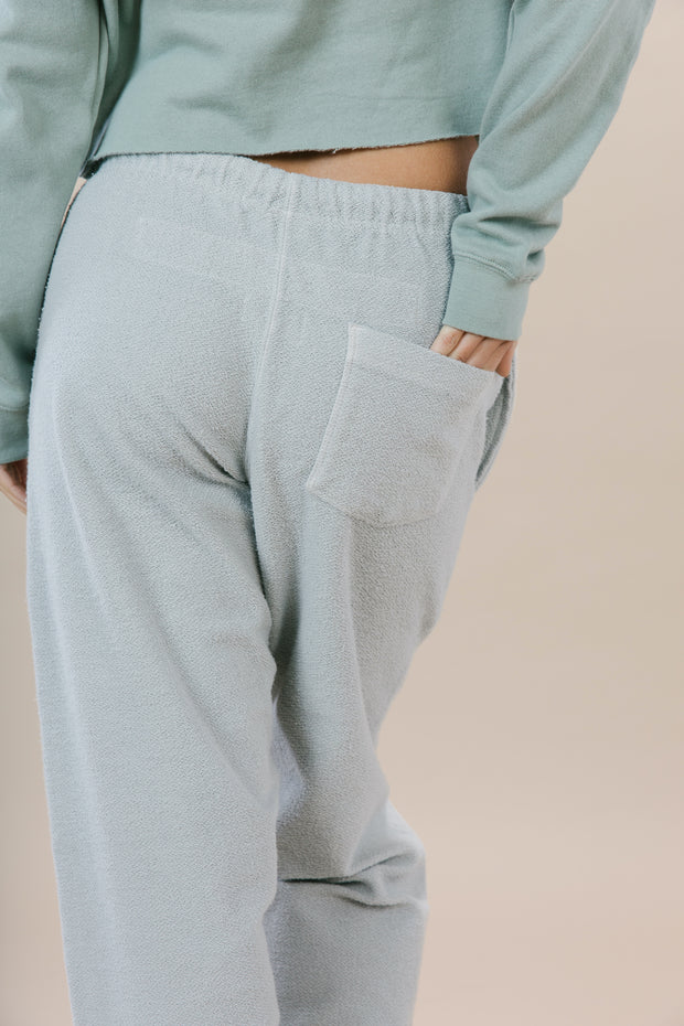Fisherman Sweatpants - Porpoise Grey