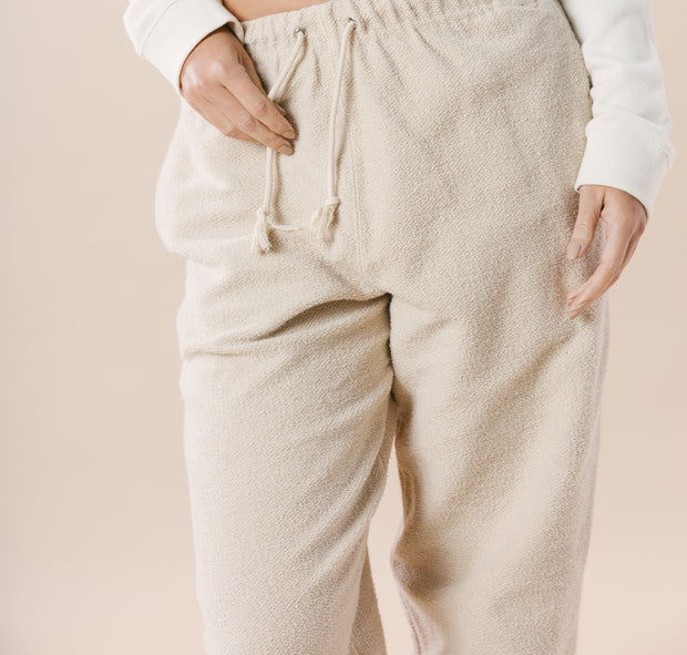 Fisherman Sweatpants - Rope Tan