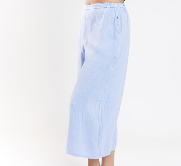 Porch Cropped Pant - Light Blue