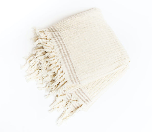 Luxe Terry Cloth Towel - Neutral