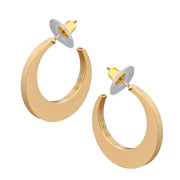 Petit Gold Hoops