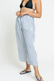 Regatta Stripe Drawstring Pant - Blue