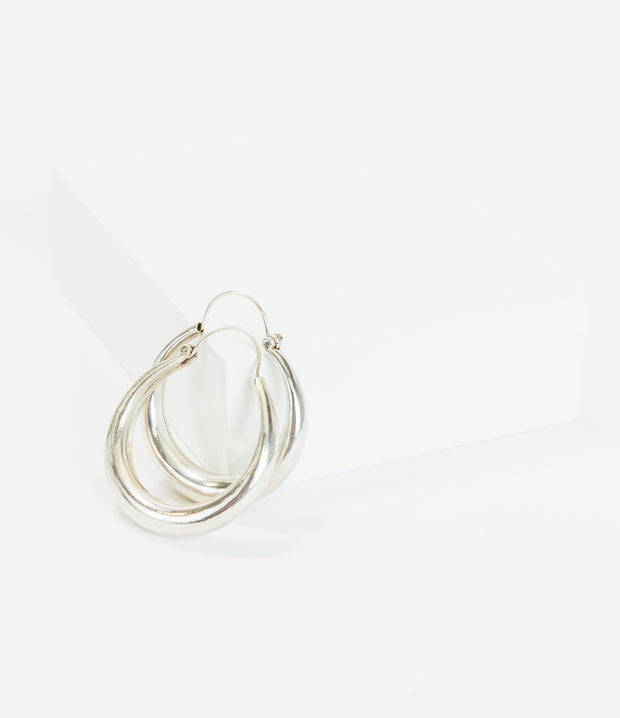 Collector's Silver Hoops
