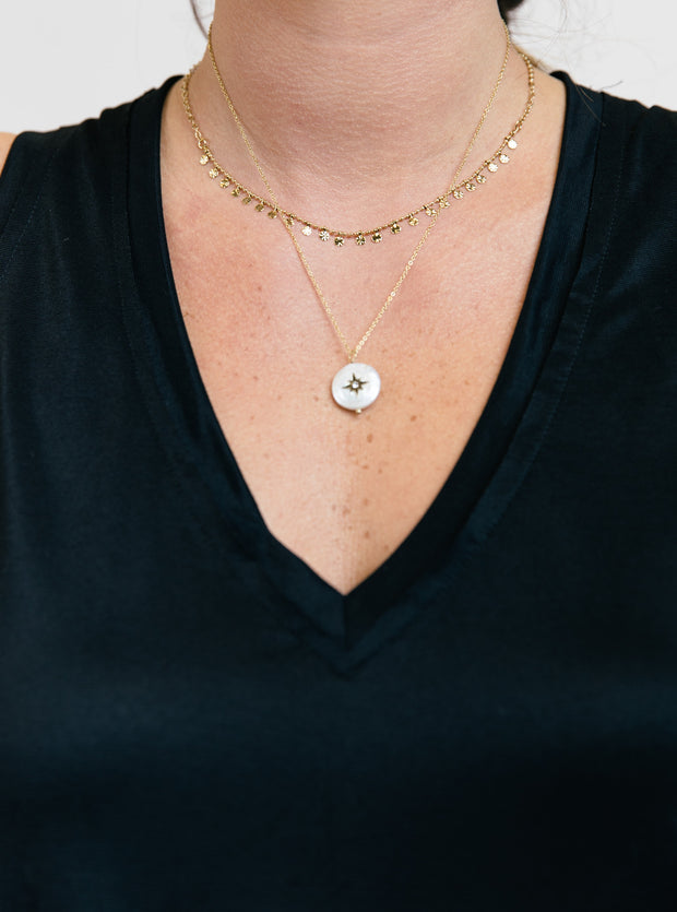 Starlight Pearl Necklace